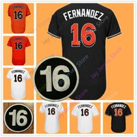 Wholesale Miami Shorts - Jose Fernandez Jersey Men Women Youth Cool Base USA Baseball Flexbase 2017 All Star Weekend Nickname Cruz Miami Jerseys Home Aaway