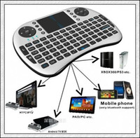 Wholesale DHL free Portable Rii G Mini i8 Wireless Keyboard Mouse Touchpad for PC Tablet Andriod TV Box IPTV