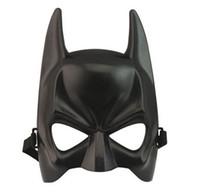 neue kostüme für männer großhandel-NEUE Batman Maske Erwachsene Maskerade Party Maske Bat Mann Vollgesichts Halloween Kostüm Masken Kostenloser Versand