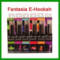 Wholesale Disposable Electronic Vaporizer - Shisha Pens Fantasia E Hookah Pen 800 Puffs With 10 Flavors Metal Tip disposable electronic cigarette vaporizer pen e cig