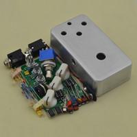 caixa diy kit venda por atacado-Construa o seu Fuzz Face Pedal kit caixa DIY @ DIY FUZZ PEDAL BOX