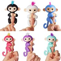 Wholesale Wholesale Hot Monkey - Cross-border hot style manufacturers spot finger monkey electronic intelligent touch Fingerlings toy
