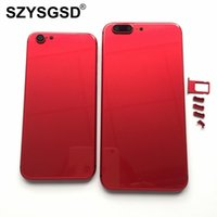 Wholesale Housing Full Case - Full Housing For Apple iPhone 6 6 Plus 7 like 8 style Back Housing Battery Cover Rear Door Case Back Chassis For iPhone 6s 7 Plus