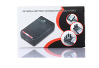 Wholesale samsung s4 charger output for sale – best Universal Intelligent LCD Indicator battery Charger For samsung GALAXY S4 I9500 S3 I9300 NOTE S5 with usb output charge US EU AU PLUG