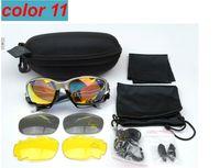 Wholesale Titanium Sports Price - BEST QUALITY cheape price men women Cycling Eyewear Glasses Sport Sunglasses UV400 3 Lens Sporting Sun Glasses Goggles