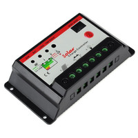 Wholesale 12v Solar Powered Regulator - 30A Solar Panel Power Battery Charge Controller   Regulator 12V   24V 30 Amp with PWM Type of Charging Free Shipping