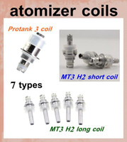 Wholesale Dct Coil Heads - ecig atomizer coil head for mt3 gs h2 mini protank atomizer dct vaporizer vivi nova clearomizer t2 t3s cartomizer coil e cig coil head FJH07