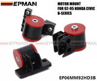 ingrosso garanzie honda-EPMAN Per Honda Civic Serie B Del Sol EG MOTORE Supporti motore B16 B18 GARANZIA A VITA B18C EG EP06MM92HD3B