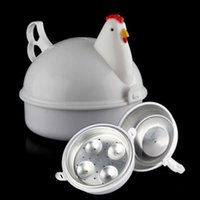 Microonde a forma di pollo 4 fornello a caldo delle uova NOVITTY Kitchen Cooking Appliances HOT A3