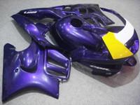 carrinhos roxos para honda cbr venda por atacado-Kit de Carenagem da motocicleta para HONDA CBR600F3 95 96 CBR600 F3 CBR 600F3 1995 1996 CBR 600 ABS TOP Roxo Carenagens set + 8gifts HM14