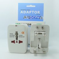 Wholesale Ac Extension - Global Universal AC Power Converter Adapter Plug EU US UK AU Extension International World Travel Adaptor