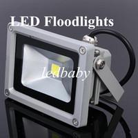 ingrosso luce di inondazione principale di alta qualità-Da Fedex 5pcs 10 w proiettore di alta qualità 85-265 V 120 gradi led proiettore luce impermeabile ad alta potenza led lampadine luce di inondazione