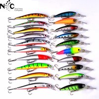 20 cores Mino Set Mixclor 2 tipo Inch Elctricity Business Hot Selling Fishing 20pcs / bag Lure Artificial Bait DW251