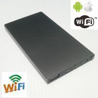 Wholesale External Flash Battery - 32GB 1080P H.264 WiFi 5000Mah Battery External Power Bank Spy Camera IR Night Vision