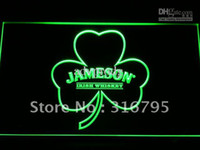 Wholesale Neon Shamrock Light - a215-g Jameson Whiskey Shamrock Neon Light Sign