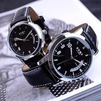 Wholesale Eyki E - High quality Fashion EYKI E-Times Leather Quartz Lover's Watch Male men's watches great gift