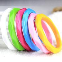 Wholesale Lucite Bangle Bracelets For Sale - Acrylic Bracelet Bangles Hot Sale Colorful Bangle Bracelets for Women Girl Fashion Jewelry Wholesale Free Shipping - 0304WH