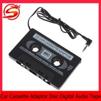 Wholesale Disc Player - mini Digital Audio Car amplifier Disc Tape for iPod MP3 CD car mps3 Player with standard 3.5mm audio sock CEC_809