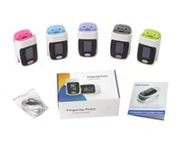 Wholesale FDA CE medical portable Fingertip Pulse Oximeter SPO2 Monitor battery not included
