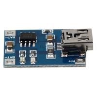 Wholesale Mini Voltage Regulator - 1Pcs Brand New Mini USB 1A 1000mA Lithium Battery Charger Module 5V Charging Board