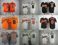 Wholesale Baltimore Xxl - baltimore orioles #8 cal ripken 2015 Baseball Jersey Cheap Rugby Jerseys Authentic Stitched Free Shipping Size 48-56