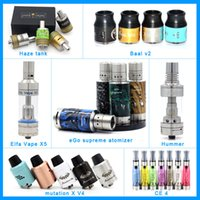 Wholesale Cigarrette Ego - RDA Atomizers eGo one Atomizere Cigarrette Baal V2 Ce4 Haze Tank for All Kinds of Batteries