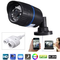 Wholesale 720P Full HD P MP Dual Stream Network Surveillance Cameras HVR NVR NVD