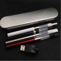Wholesale Silver Char - ce3 battery bud touch vaporizer starter kit 280mah vape pen with Min i USB char ger