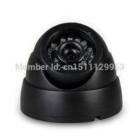 Wholesale Dome Camera Cctv - FREE SHIPPING 1 PCS 700TVL IR Cut Surveillance Indoor Dome CCTV Security Camera 3.6mm