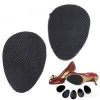 вкладыши для каблука оптовых-2 пары противоскользящая обувь каблук подошва защитная накладка колодки нескользящая подушка адгезивные вставки для женщин аксессуары 08HU