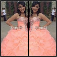 Wholesale Masquerade Ball Cheap Dresses - Sweet 16 Cheap Quinceanera Dresses Gowns Masquerade Ball Gowns vestidos de quinceaneras 2016