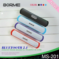Wholesale Horn Speaker For Iphone - b13 B13 wireless bluetooth speakers hands-free with TF card slot double horn double diaphragms bluetooth for S5 5S iphone 6 Q88 LY4