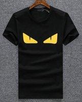 amerikanisches deluxe großhandel-Deluxe Männer T-shirt Mode Tops Cartoon Gedruckt t shirts Kurzarm Amerikanischen Design Comics Sport t-shirt
