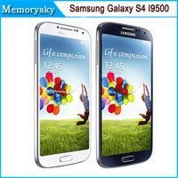 Wholesale High Quality Camera Android - Original Samsung Galaxy S4 i9500 unlocked phone 5.0inch 13MP Camera Quad Core 16GB Storage high quality refurbished white black Smart Phone