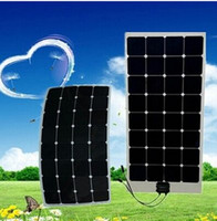 Wholesale Wholesale China Solar Panel - new designed high efficiency semi flexible solar panel 100W 120w 140w 150w for RV boats  marine With controller from China factory directly