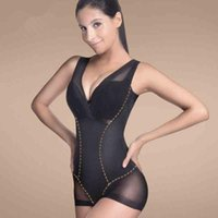 Wholesale Training Corset Tops - Women Body Sculpting Clothing Waist Cinchers Corset Shapewear Waist Training Corset Catsuit 2015 Fashion New Arrival Shapewear