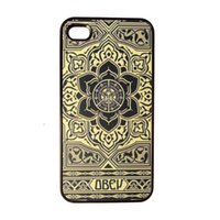 Wholesale Iphone 4s Retro - S5Q Retro Pattern Hard Case Cover Back Skin Protector For Apple iPhone 4 4S AAACHY