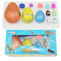 New Magic Hatching Dinosaur Crescente Fun Toy Aggiungi Water Grow Dino Egg Bambini Kid Fun Funny Toys Gadget regalo
