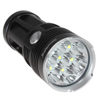 Wholesale T6 Led 7x - SecurityIng 4200LM 7x XM-L T6 LED Super Bright Water Resistant 3 Modes Flashlight NO Mode Memory LEF_SA2