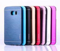 Wholesale lg g3 metal case for sale – best Note5 Edge Motomo PC Aluminum Metal Brush Case For Samsung Note S6 Edge Plus Grand Prime G530 Core G360 A8 MOTO G3 ASUS Zenfone2