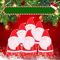 Wholesale speaker b - Creative Sound Box Plastic Cartoon Christmas Santa Claus Speaker Lovely USB Charging Tumbler Loudspeaker Boxes High Quality 42af B