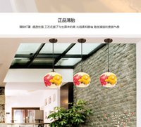 Wholesale Porcelain Light Switches - Chinese pottery and porcelain lamp is acted the role of sitting room corridor corridor restaurant dining room small droplight creative hand-