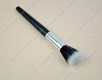 Wholesale Cheap Paint Brushes Wholesale - Free Shipping Paint powder brush 10 PCS lot new cheap black single beauty make-up based stipple fiber powder brush