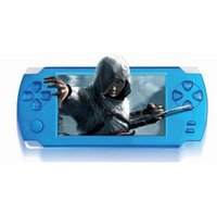 """Wholesale Game Player 3d - Free Shipping 4.3"""" Touch Screen Ultra-thin 32Bit Handheld Games Consoles 3D Game Player 8GB 4GB PMP ps1"""
