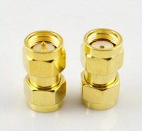 Wholesale Rf Adaptor - RF coaxial adapter SMA male to RP SMA plug   female pin connector adaptor
