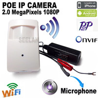 Скрытая камера Mini Ip Camera POE Camera Mini Ip 1080p Wifi HD Cctv Система видеонаблюдения Видеоустройство Mini Wireless Home Camme Cam Pir