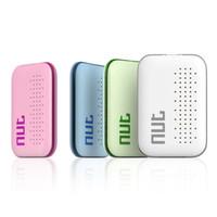 etiquetas de manzana al por mayor-DHL libre Tuerca 3 Clave de seguimiento inteligente Buscador Bluetooth Nut3 Wireless Mini perseguidor Tag para la alarma del animal doméstico Niño Clave sensor GPS Localizador VS Tuerca 2