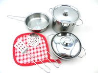 Wholesale Mini Piece Stainless Steel Pots and Pans Set