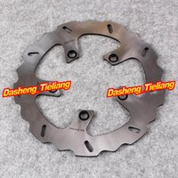 Wholesale Kawasaki Rear Brake Discs - Stainless Steel Rear Brake Disc Rotor For Kawasaki 1999-2000 ZRX 1100 01-06 ZRX1200 ZRX R S 1200, Motorcycle Part Accessories order<$18no tr
