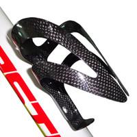 wasser fahrrad verkauf großhandel-1004 Vollcarbon 3k glossy Carbon Fahrrad Wasserflasche Käfig Fahrrad Halter heißer Verkauf Fahrrad Teile